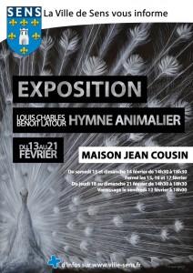 AFFICHE SENS expo Maison J Cousin 2