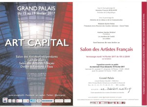 INVITATION grand palais 2017red